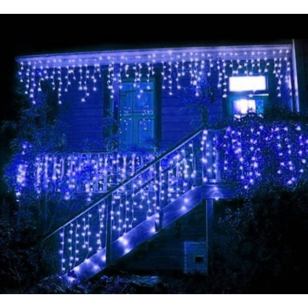 Floranso 1200 inch Blue Rice Lights  (Pack of 1)