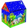 Awals Jungle Night Safari LED Light Tent House With Height Chart For Kids  (Multicolor)