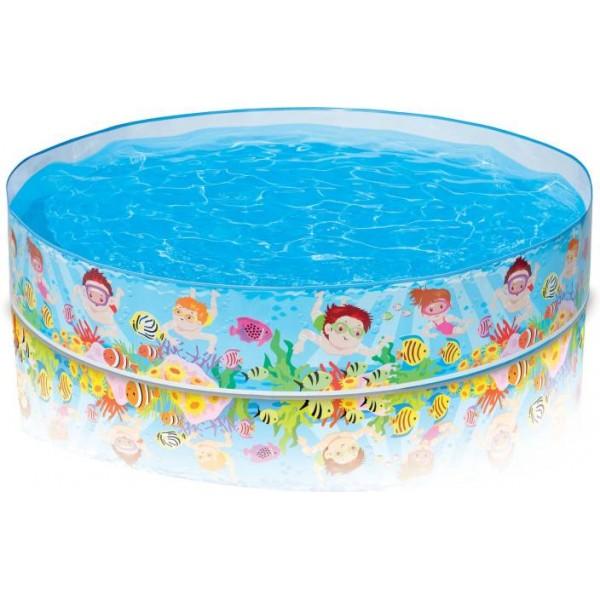 Intex Snorkel Buddies Snapsettm Pool  (Multicolor)