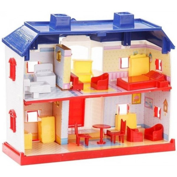 starsky 24 Pieces Beautiful Doll House  (Multicolor)