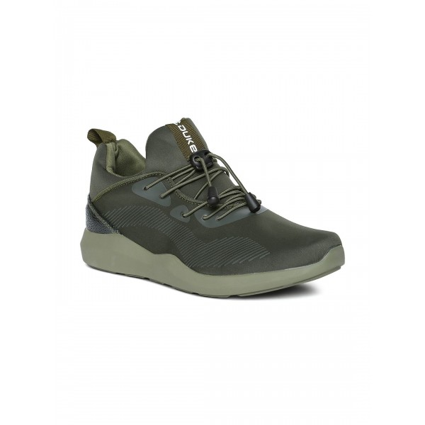 Duke Lifestyle Green Casual Shoes