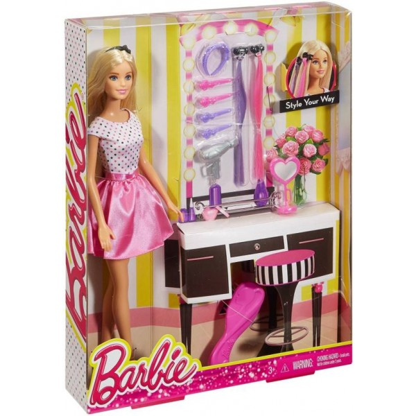 Barbie Deluxe Hair  (Multicolor)