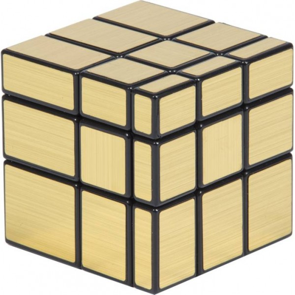 Imported ShengShow Gold Mirror Rubik Magic Cube  (1 Pieces)