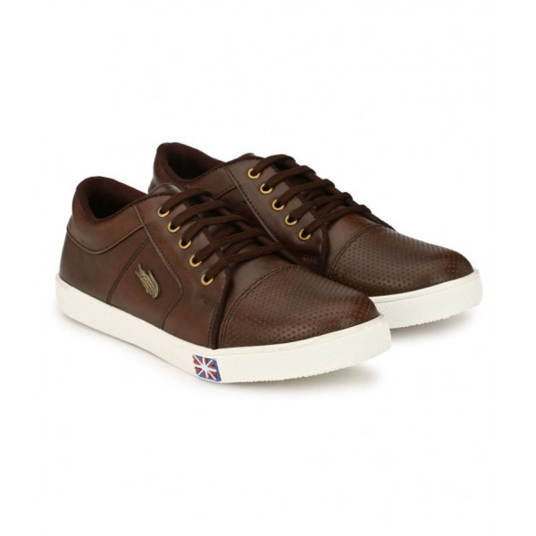 LEJANO NA Sneakers Brown Casual Shoes