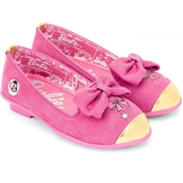Barbie Girls Slip on Walking Shoes  (Pink)