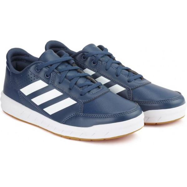 ADIDAS Boys & Girls Lace Cross trainers  (Blue)