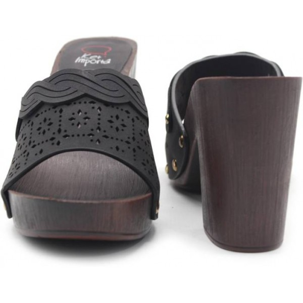 Crocs Women Black Wedges