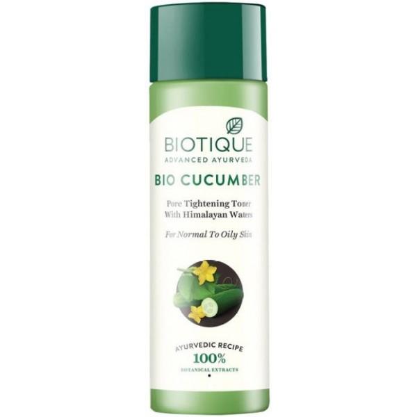 Biotique Bio Cucumber Pore Tighetning Toner  (120 ml)
