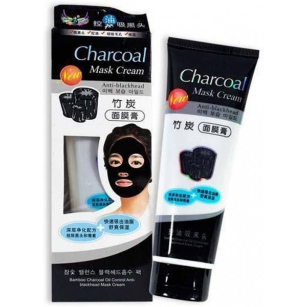 Shopimoz Charcoal Oil Control Anti-Acne Deep Cleansing Blackhead Remover, Peel Off Mask  (130 ml)