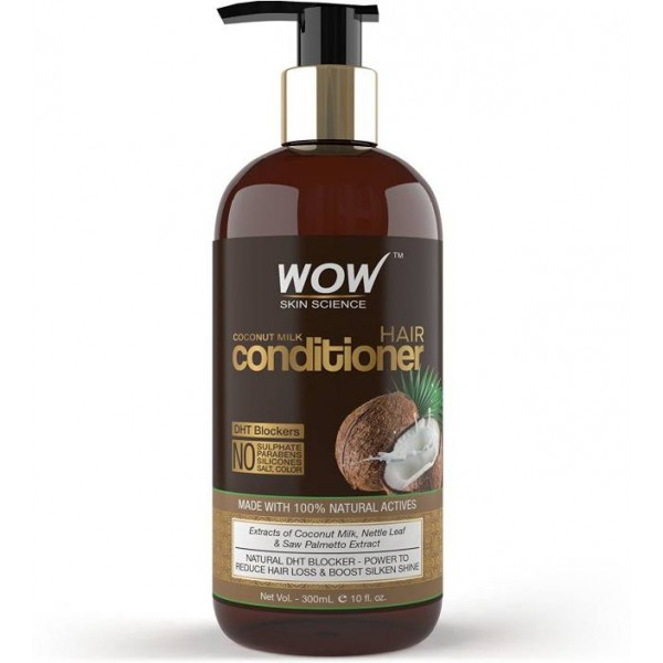 WOW SKIN SCIENCE WOW Coconut Milk Conditioner  (300 ml)