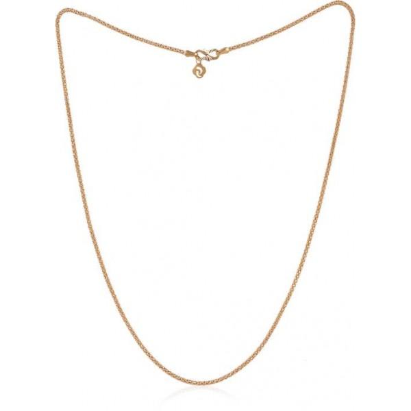 Jisha Twinkle 22K Yellow Gold Precious Chain  (22kt)