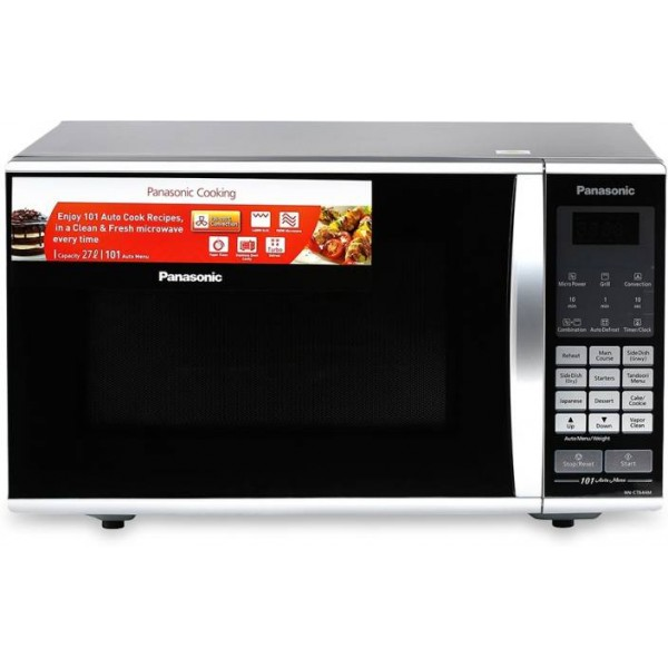 Panasonic 27 L Convection Microwave Oven  (NN-CT644MFDG, Black)