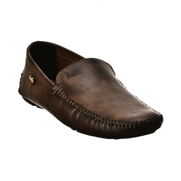 Lee Fox Brown Loafers