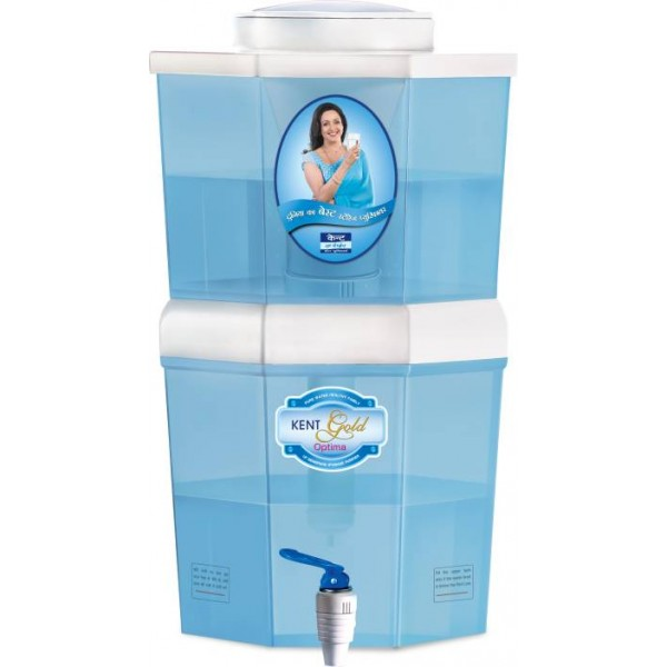Kent OPTIMA (11016) 10 L UF Water Purifier  (White, Blue)