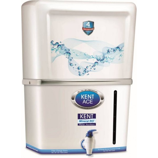 Kent ACE (11032) 7 L RO + UV +UF Water Purifier  (White)