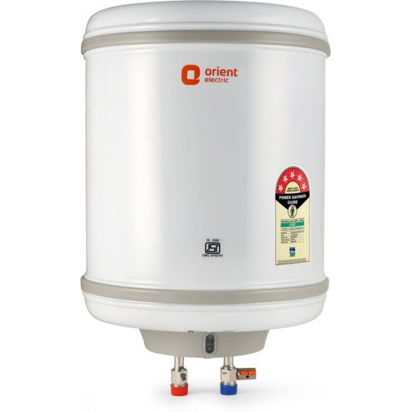 Orient Electric 25 L Storage Water Geyser  (White, WS2502M| Aquaspring)