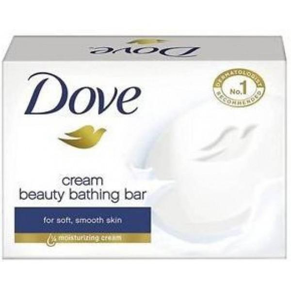 Dove Cream Beauty Bathing Bar - Set of 3  (300 g, Pack of 3)