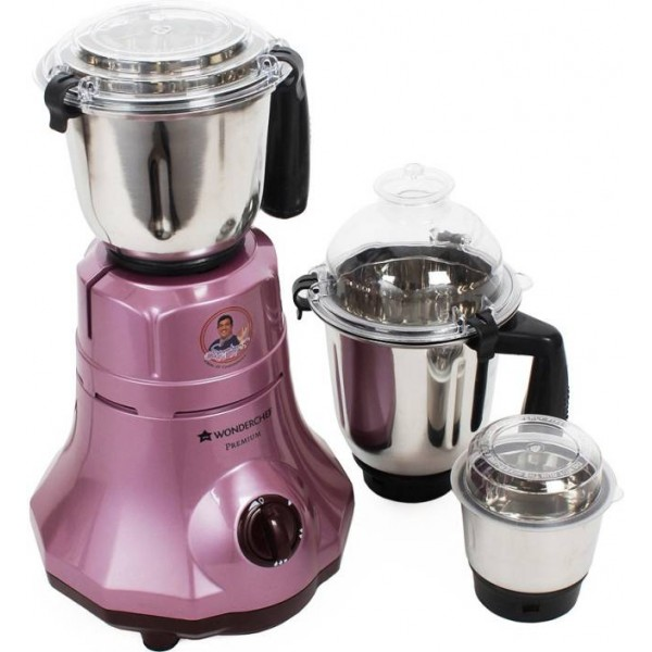 Wonderchef 8904214707545 750 Mixer Grinder  (Velvet, 3 Jars)