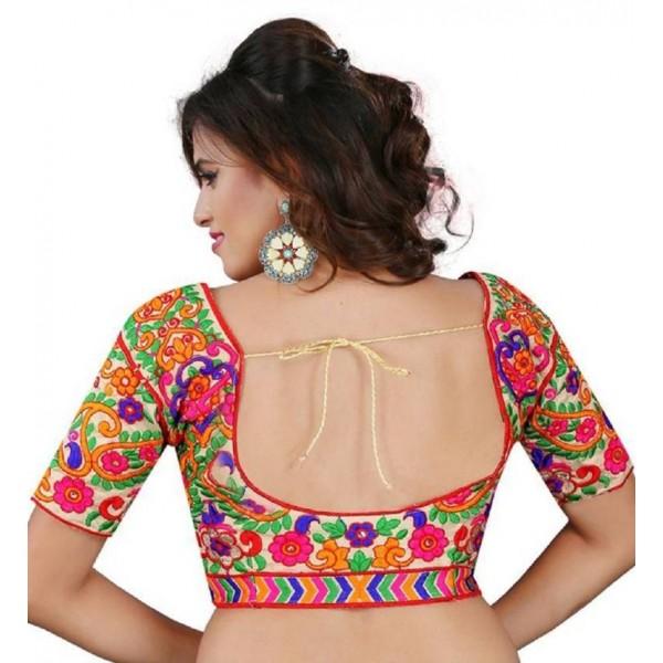 M.G.fashionhub Round Neck Women's Stitched Blouse