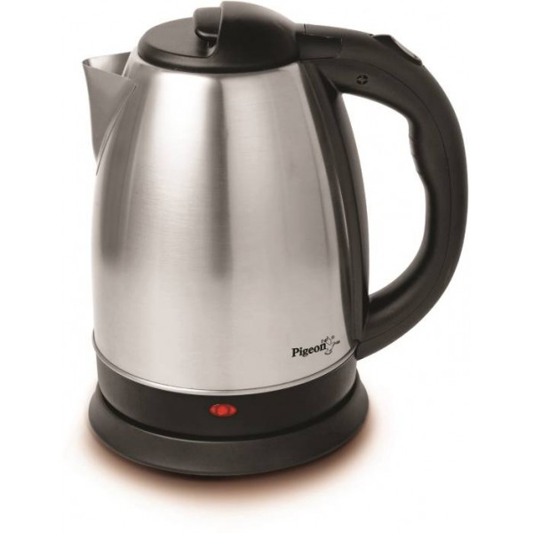 Pigeon Favourite Electric Kettle  (1.5 L, Silver, Black)