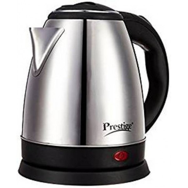 Prestige PKOSS Electric Kettle  (1.8 L, Black, Silver)