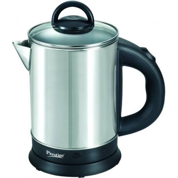Prestige pkgss Electric Kettle  (1.7 L, Black, Steel)