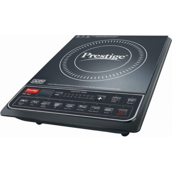 Prestige PIC 16.0 Induction Cooktop  (Black, Push Button)