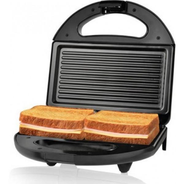 Nova 2 Slice Panini Grill NSG 2441 Toast  (Black, Grey)