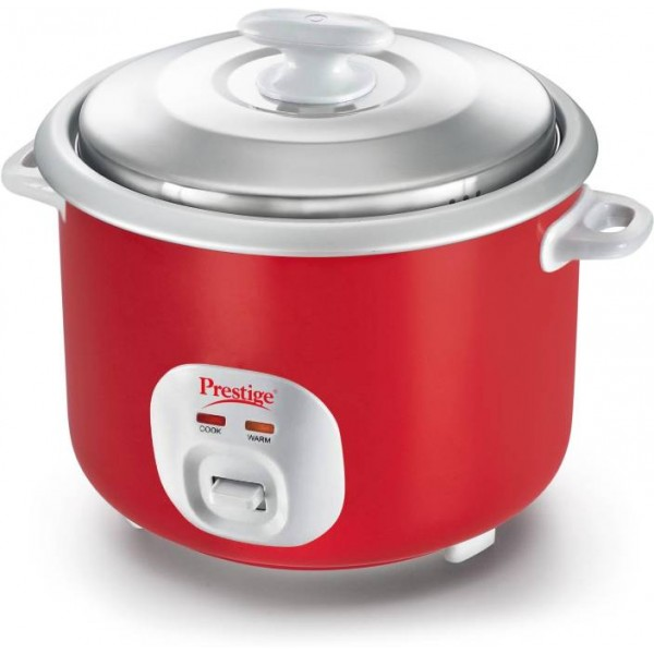 Prestige Delight Electric RIce Cooker Cute 2.8 - 2 Electric Rice Cooker  (2.8, Silky Red)