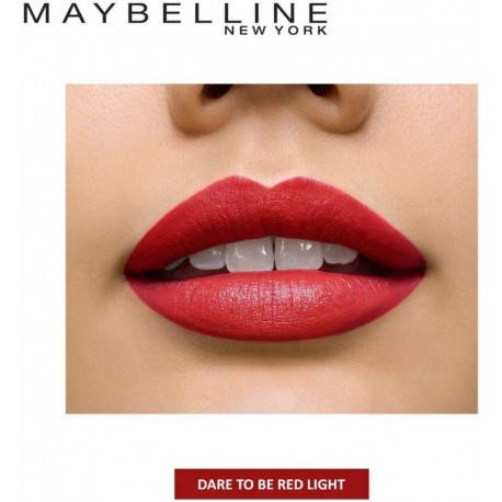 Maybelline Color Sensational Mattes  (647 Dare to be Red)