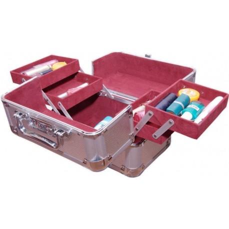 Pride Star Smile to store cosmetics Vanity Box  (Silver)