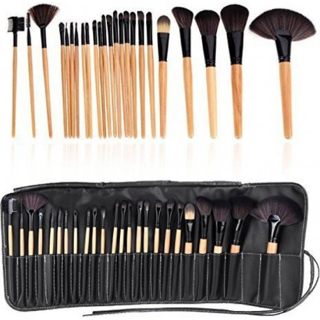 Ladista Makeup Brush Set Professional Tool Kit Comestic Brushes  (Pack of 24)