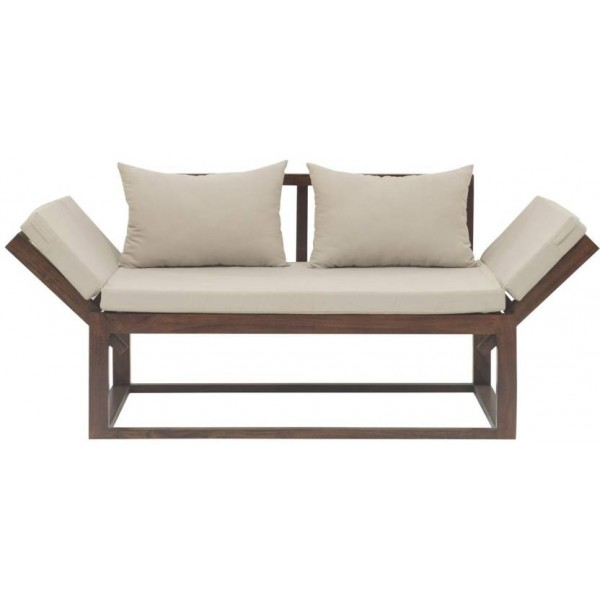 The Jaipur Living Milano MAngo Single Solid Wood Sofa Bed  (Finish Color - Honey Brown Mechanism Type - Fold Out)