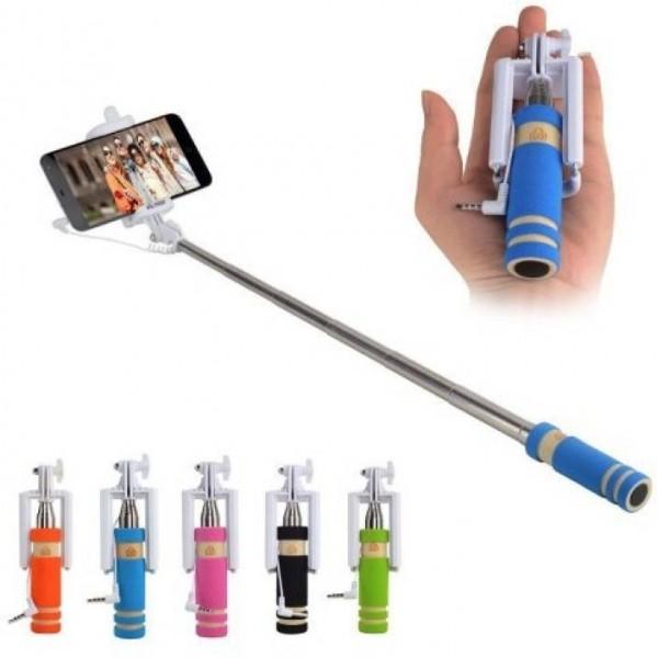 Ibz Cable Selfie Stick  (Multicolor)