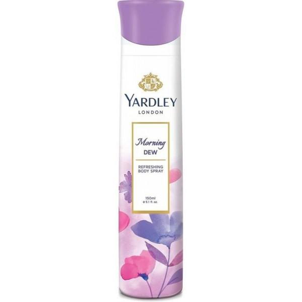 Yardley London MORNING DEW REFRESHING DEO Perfume Body Spray - For Women  (150 ml)