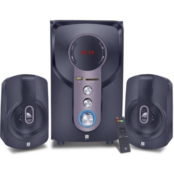 Iball HI-Bass 2.1 Home Cinema  (DVD)