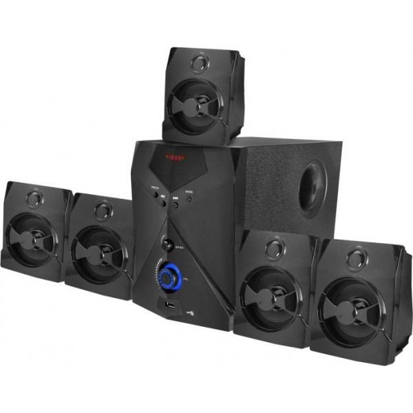 TECNIA Atom 504 Bluetooth 5.1 Home Cinema  (USB)