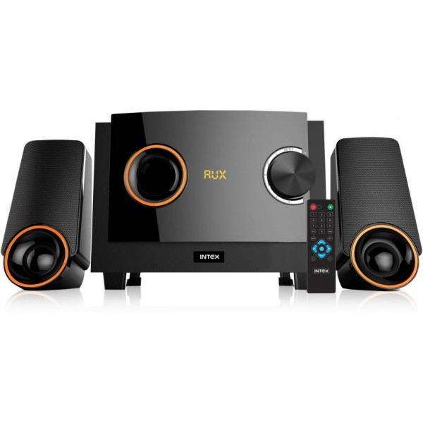 Intex IT- 212 SUFB 40 W Bluetooth Home Audio Speaker  (Black, 2.1 Channel)