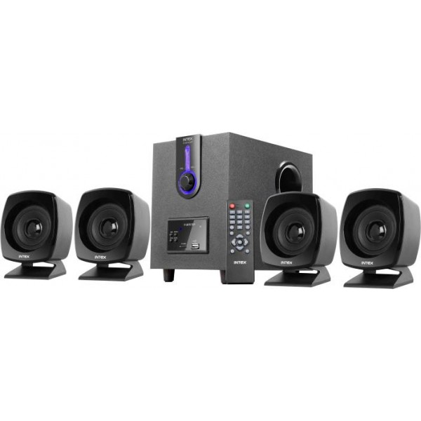 Intex IT-2616 SUF OS Multimedia 55 W Portable Home Audio Speaker  (Black, 4.1 Channel)