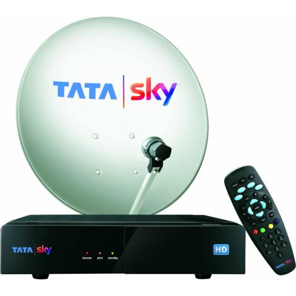 Tata Sky HD Box with 1 Year Dhamaka 199 Pack + 1 Month HD access