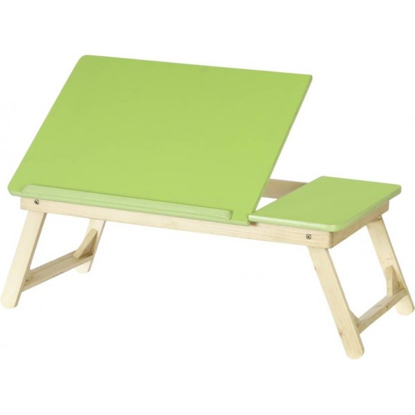NHR Wood Portable Laptop Table  (Finish Color - BRIGHT GREEN)
