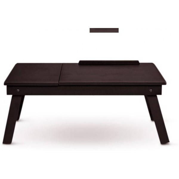 Colorwood Solid Wood Portable Laptop Table  (Finish Color - Wenge)