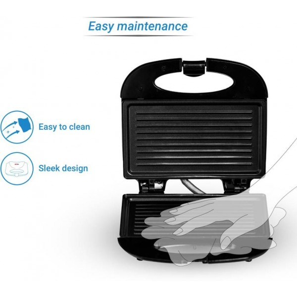 SmartBuy Grill Sandwich Maker  (Black)