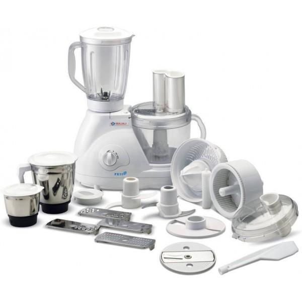 Bajaj FX 11 Food Factory 600 W Food Processor  (White)