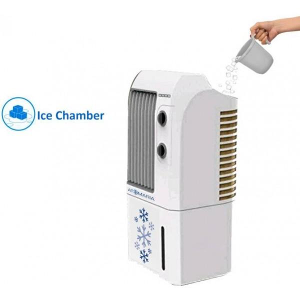 Usha Atomaria CP 93 Personal Air Cooler  (White, 9 Litres)