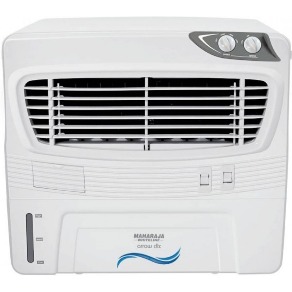 Maharaja Whiteline ARROW DLX Window Air Cooler  (White, 50 Litres)