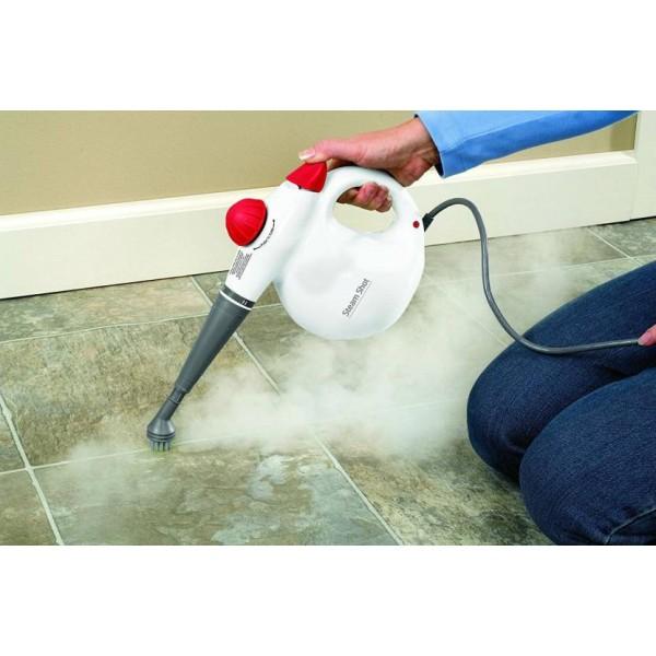 Shrih Shot Cleaner Steam Mops  (White)