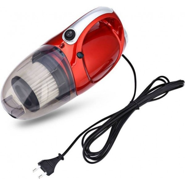 Shrih SHV-2209 Hand-held Vacuum Cleaner  (Red and Black)