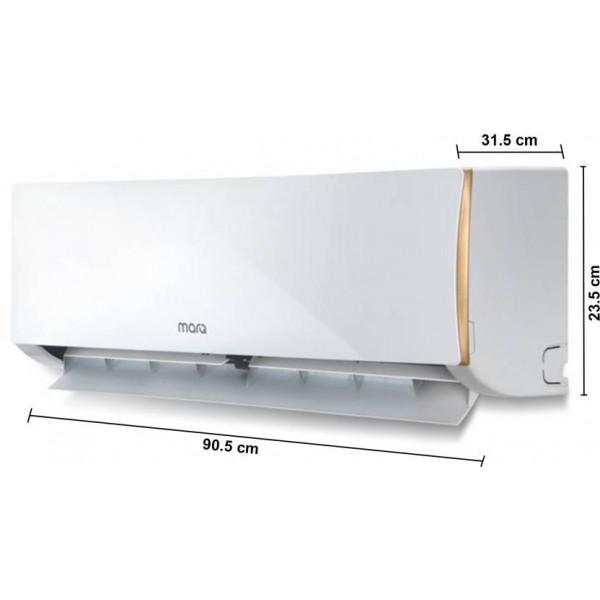 MarQ  1.5 Ton 3 Star Split AC - White  (FKAC153SFA, Copper Condenser)