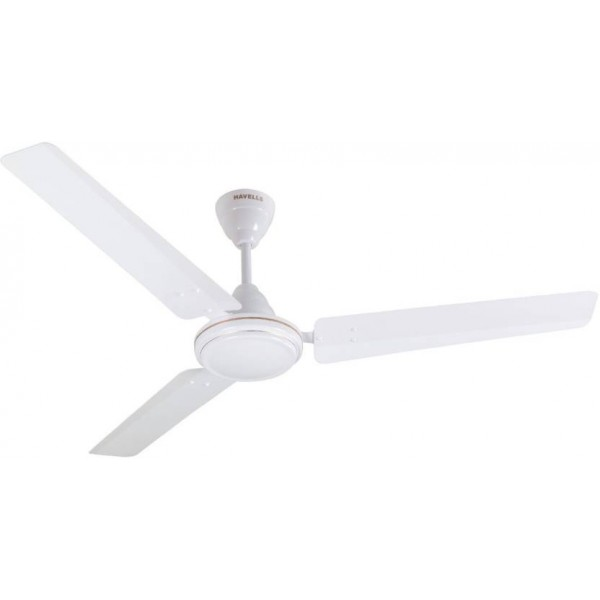 Havells Pacer 3 Blade Ceiling Fan  (Elegant White)